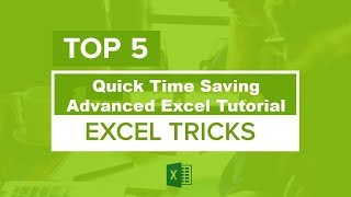 Advanced Excel 5 Magical Hidden Tips & Tricks