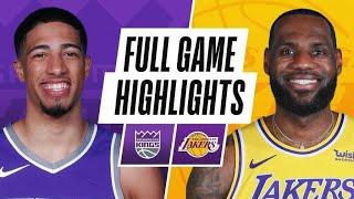 GAME RECAP: Kings 110, Lakers 106