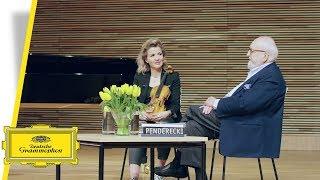 Anne-Sophie Mutter - Hommage à Penderecki (Interview 5 )