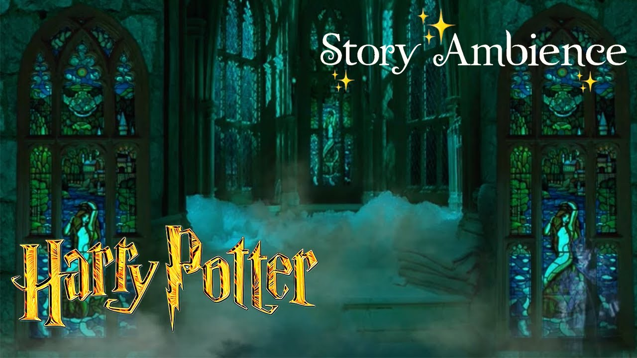 5th Floor Prefects Bathroom Harry Potter Ambience ASMR ...