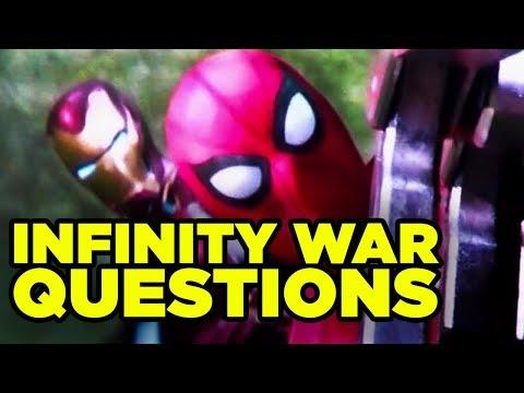 Infinity War UNANSWERED QUESTIONS Explained! #NewRockstarsNews