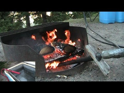 Camping Water Container >> Endless Hot Water System - Endless Hot Water Without Power - YouTube