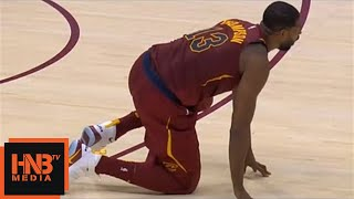 Tristan Thompson Ankle Injury / Cavaliers vs Pacers / Nov 1