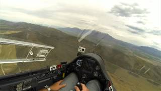 Final Glide Into Nephi With Crappy Landing