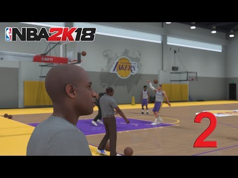 NBA 2K18 Прохождение Карьеры Игрока # 2 (Просмотр В Лейкерс)