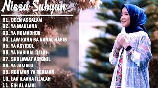 Gambar cover Lagu Nissa Sabyan Full Album Spesial Cocok Untuk Menikmati Bulan Ramadhan Tanpa IKLAN!