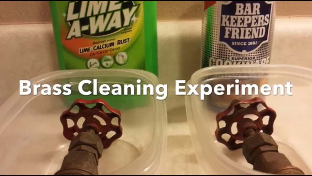 Bar Keepers Friend Vs Lime Away Br Cleaning Experiment Clean Easily
