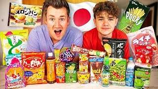 BROTHERS TRY JAPANESE FOODS