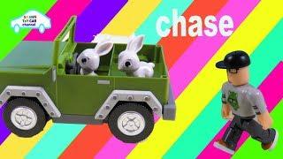 Roblox jagen Jeep smart niedlichen Hase lachen Alptraum