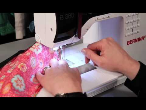 bernina 3er serie tutorial stopfen mit der n hmaschine. Black Bedroom Furniture Sets. Home Design Ideas