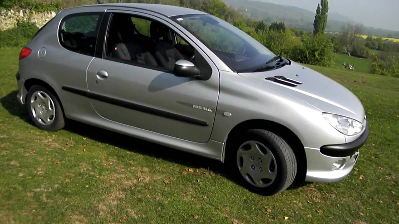 2003 peugeot 206 quicksilver youtube. Black Bedroom Furniture Sets. Home Design Ideas