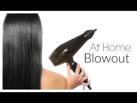 DIY  Blowout Tutorial For Beginners - Salon Quality Blowout At Home! ad - MissLizHeart