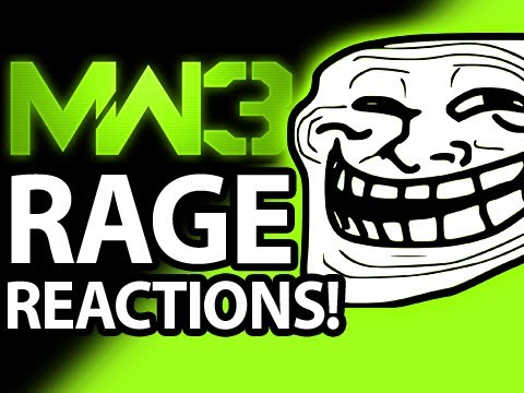 MW3 Funny Rage
