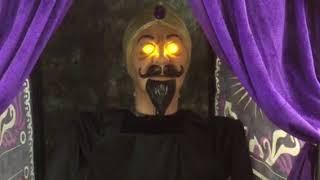 Lowe's Gemmy Halloween 2018 animated Zultan fortune teller