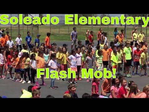 Soleado Elementary School  Flash Mob