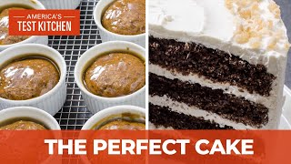 How to Make Stunning Cakes Like Gingerbread Layer Cake and Individual Sticky Toffee Pudding Cakes