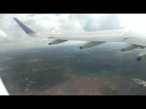 Indigo Flight Take off.. From Bangalore to Bhubaneswar