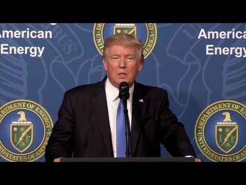 Trump: U.S. has 'near limitless supplies of energy'