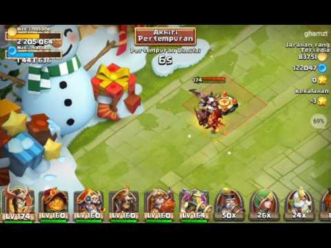 PahlawaN Terkuat Castle Clash (konflik Kastil) Versi Indonesia