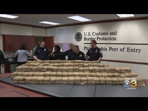 Nearly 2,000 Pounds Of Cocaine Seized At Philadelphia Port
