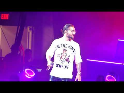 Maluma, El Préstamo - 2018 F.A.M.E. Tour (Agganis Arena - Boston, MA)