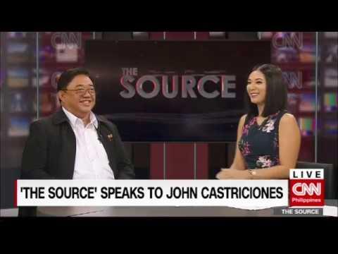 'The Source' speaks to Agrarian Reform Secretary John Castriciones