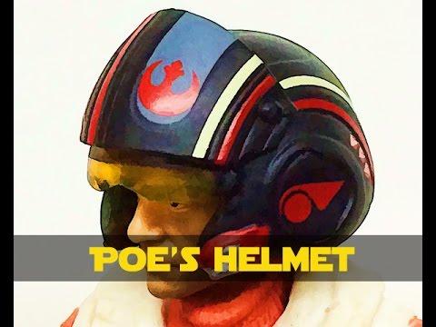 Poe Dameron Helmet Kit