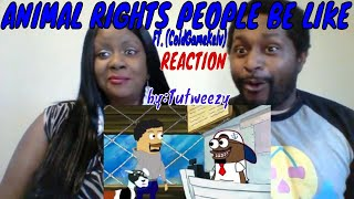 Tutweezy - Animals rights people be like (Feat. ColdGameKelv)  REACTION