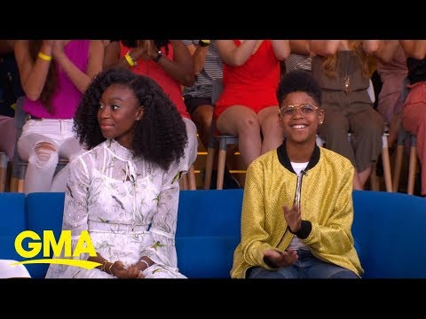 J.D. McCrary and Shahadi Wright Joseph dish on bringing 'The Lion ...