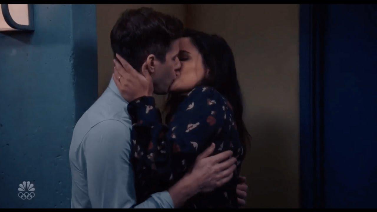 Brooklyn Nine Nine 7x06 Jake Amy Scenes Part 4 Kissing Scenes Youtube