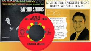 "SAVERIO SARIDIS (""The Singing N.Y. Cop"") - Love Is the Sweetest Thing (1962)"