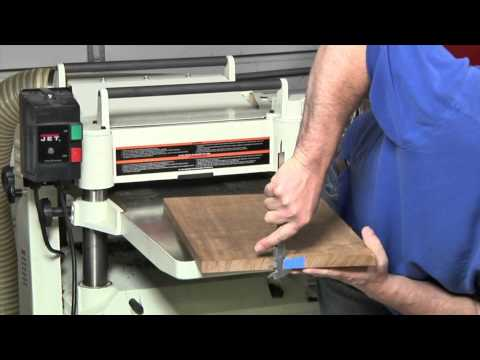 How to Use a Planer to Make Boards Smooth and Flat