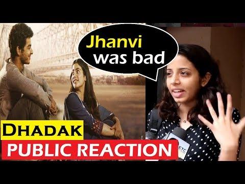 OMG! Public NEGATIVE Reaction on Jhanvi Kapoor | Dhadak Public Review