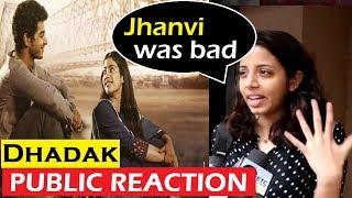OMG! Public NEGATIVE Reaction on Jhanvi Kapoor   Dhadak Public Review