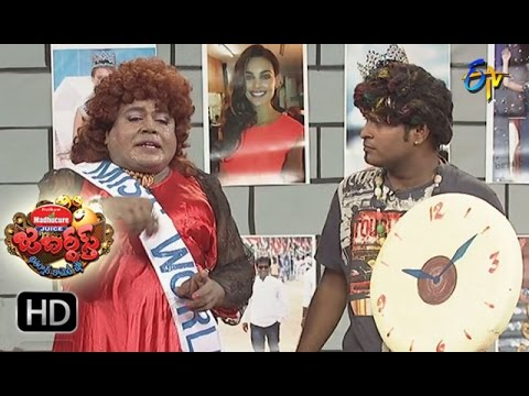 Racha Ravi Performance | Jabardsth |  16th March 2017    | ETV  Telugu
