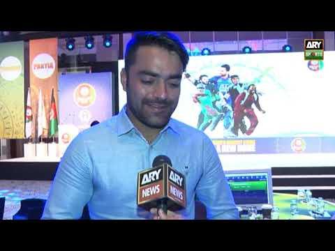 """Pakistan has good spinners in Shadab khan Mohammad Nawaz"" Rashid Khan"
