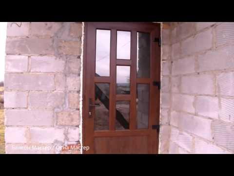 Пластиковые двери входные, балконные, межкомнатные ПВХ дверь