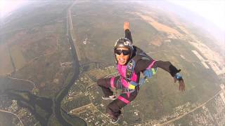 Skydiving Wedding Proposal- Chris and Mabell
