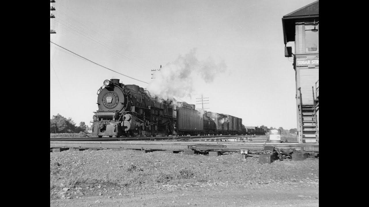 Steam Locomotives On The Pennsylvania Railroad [4K]