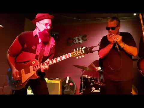 The Junior Watson Band ft. Mitch Kashmar #1 at Cafe The Maple - Ertvelde