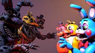 SFM FNAF Nightmare VS Toys