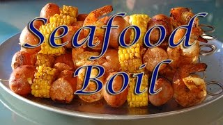 Seafood Boil In The Can Cooker! Tasty Tuesday 16
