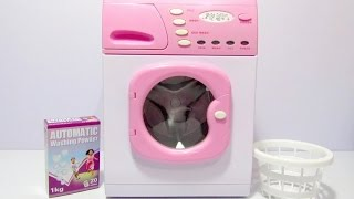 Toy Washing Machine CASDON Unboxing and Review