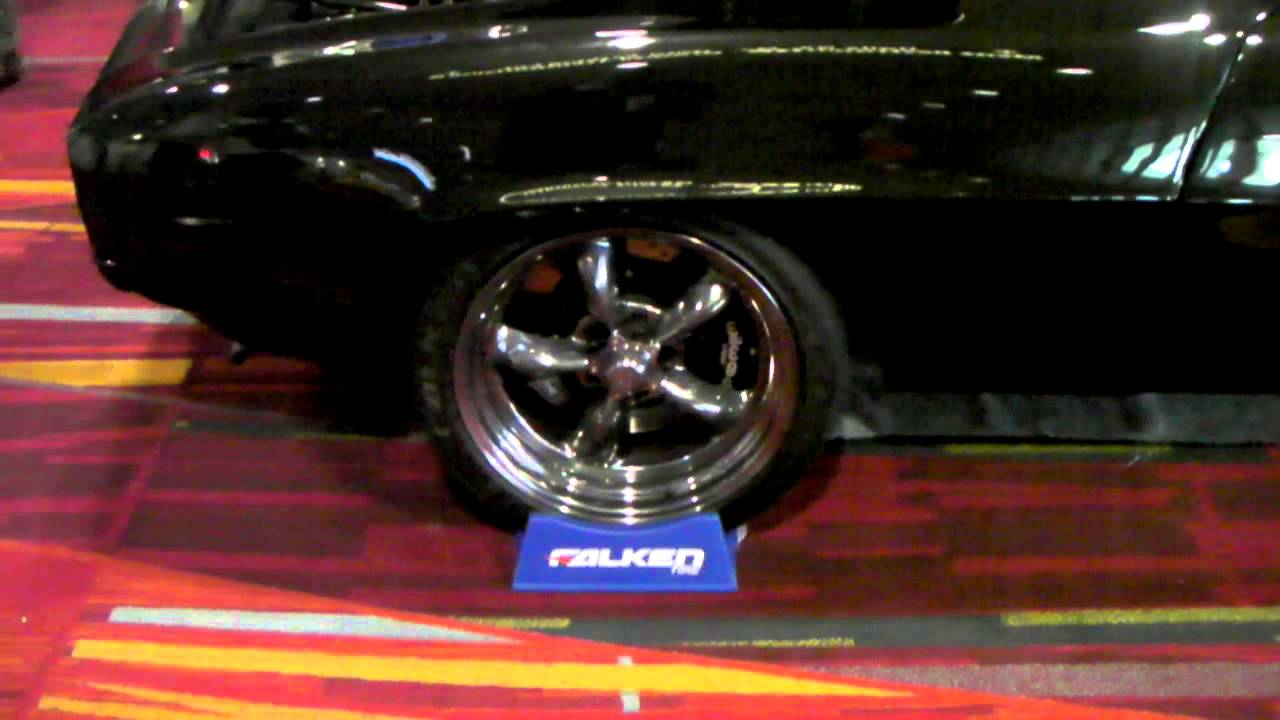 Matte Black Bmw >> DUBSandTIRES.com 1960 Chevy Camaro Review 18'' American Racing Chrome Wheels Asanti Forgiato ...