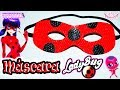 ♥ Tutorial: Máscara o Antifaz de Ladybug || Miraculous Ladybug ♥