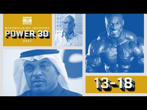 Power 30: The Most Powerful People In Bodybuilding Today   18-13