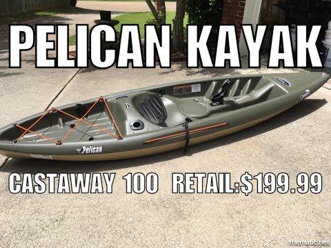 Pelican Castaway 100 Kayak Youtube