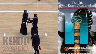 男子個人【4回戦】Men's Ind. 4R【S・ANDO(JPN)×J・WILLIAMS(USA)】第17回世界剣道選手権大会【17th WKC】