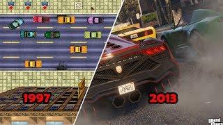 Evolution Of Grand Theft Auto Gmes