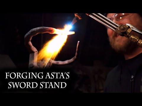 Forging A Sword Stand For Asta's Demon Dweller Sword